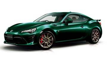 2019 Toyota 86 – British Green Edition