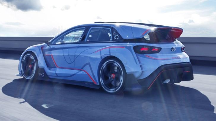 Hyundai N's AWD Hybrid Flagship May Be Hypercar Quick