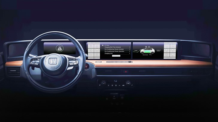Honda Teases Cabin Of Urban EV Prototype –Gallery