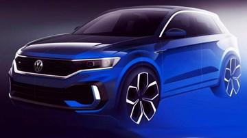 Volkswagen Teases T-Roc R Ahead Of Geneva –Gallery