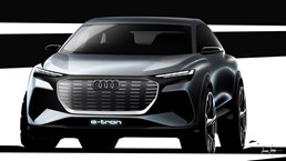 Audi Readying Q4 e-tron For Geneva – Gallery