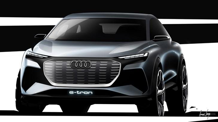 Audi Readying Q4 e-tron For Geneva – Gallery