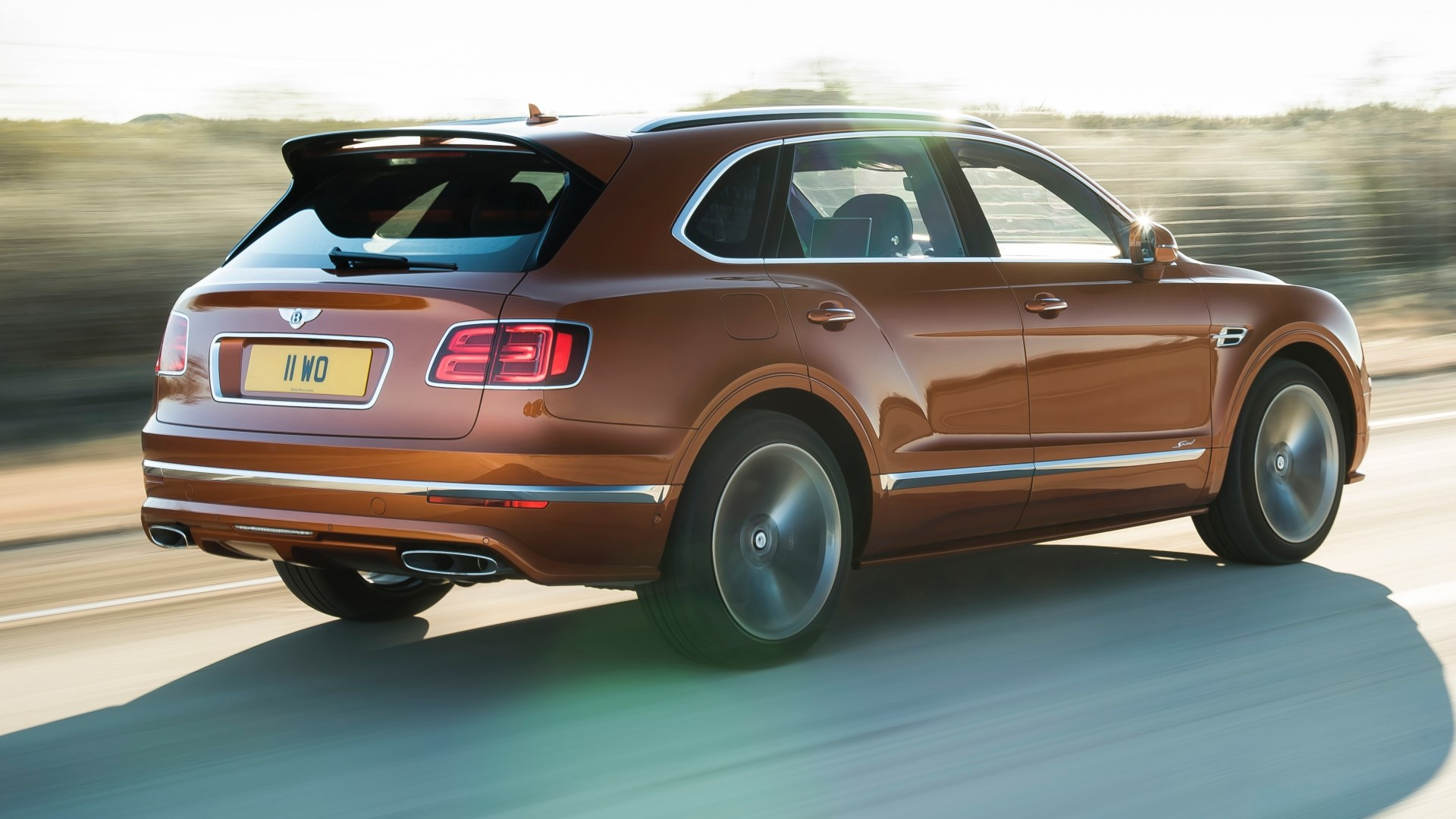 "Bentley Bentayga Speed Is ""World's Fastest SUV"" Thumbnail"