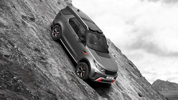 2017 Land Rover Dicovery SVX –Frankfurt Motor Show