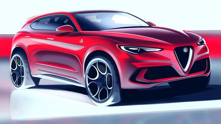 Alfa Romeo Bringing Sub-Stelvio SUV To Geneva –Gallery