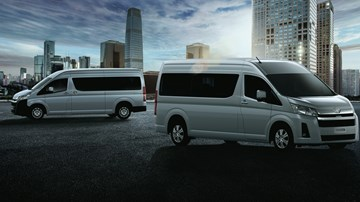 2019 Toyota HiAce Is Sharper, Safer, And Larger – Gallery