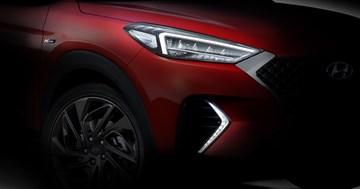 Hyundai Teases Tucson N-Line, 48-Volt Mild-Hybrid Powertrain