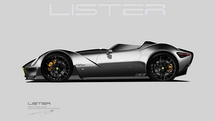 Lister Teases Its Knobbly Concept, Headed For Geneva – Gallery