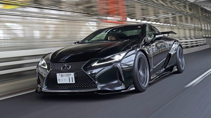 2018 Lexus LC500 Black Label GT by Artisan Spirit