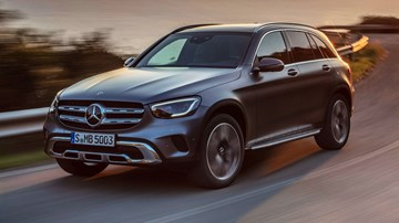 '20 Mercedes-Benz GLC Adds Smarts, But Loses Style
