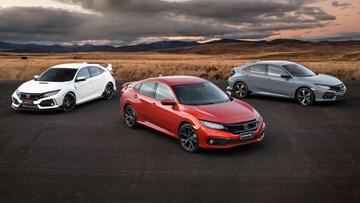 Honda Australia Details 2019 Civic Pricing, Specifications