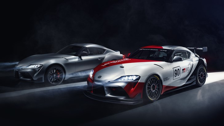 Toyota Outs Supra GT4, A Racy Concept With An Automatic