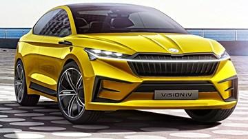 2019 Skoda Vision IV Concept – Geneva Motor Show