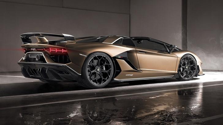 Lamborghini Outs Open-Top Aventador SVJ Roadster