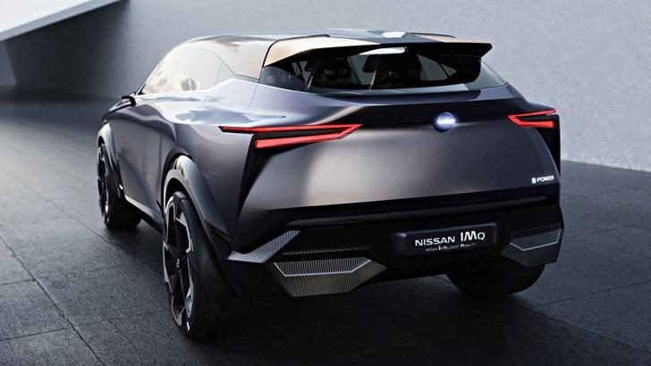 Nissan's IMQ Concept Puts e-Power Front & Centre