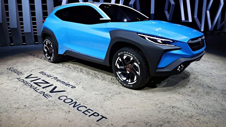 2019 Subaru Viziv Adrenaline Concept – Geneva Motor Show