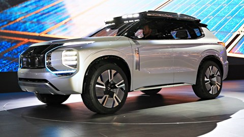 2019 Mitsubishi Engelberg Tourer Concept – Geneva Motor Show