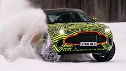 Aston Martin DBX Filmed Playing In Swedish Snow –Video