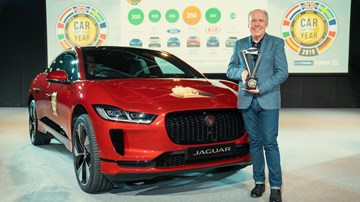 Jaguar I-Pace Wins '19 European Car Of The Year – Gallery