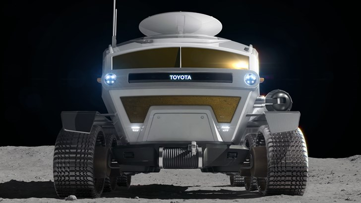 Toyota And The Rising Earth, Moon Rover Concept Revealed
