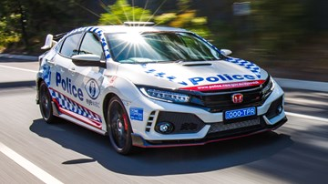 Honda Civic Type R Is NSW Police Force's New Recruit
