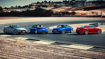 """Audi Wants The TT, But It's An """"Emotional"""" Topic –Gallery"""