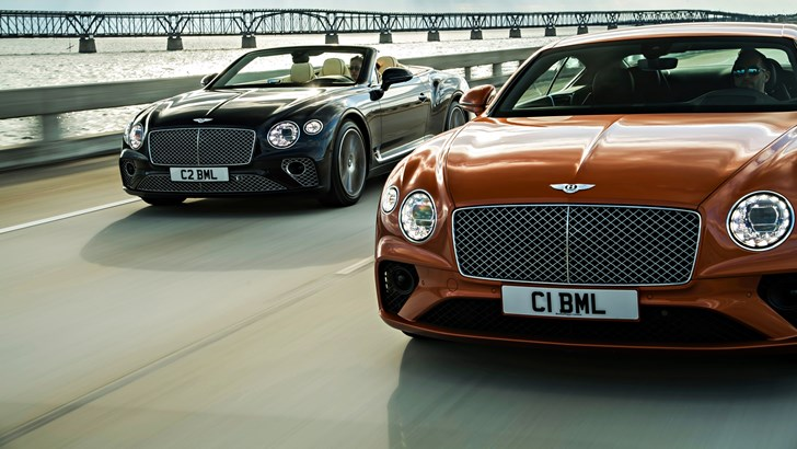 Bentley Introduces 2020 Continental GT V8 – 405kW On Tap