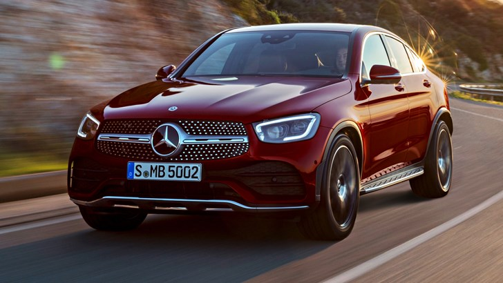 '20 Mercedes-Benz GLC Coupe Unveiled