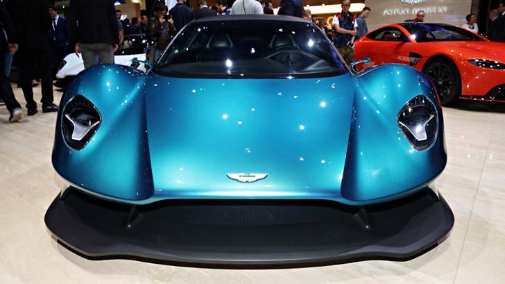 New Aston Martin Vanquish: Mid-Engined, AMR Pro, Volante –Gallery