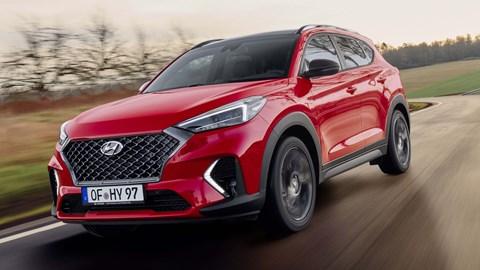 Hyundai Unveils The Halfway-Sporty Tuscon N Line