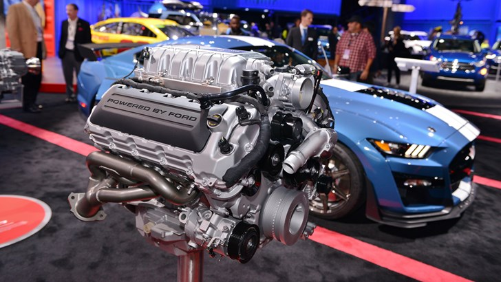 The Mustang GT500 Is Capped At 180mph, Not That It Matters