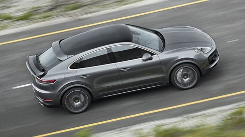 Porsche Reveals Cayenne Coupe To Battle BMW X6