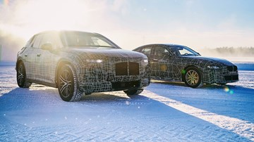 BMW Schedules Snow Play For i4, iX3, iNEXT –Gallery