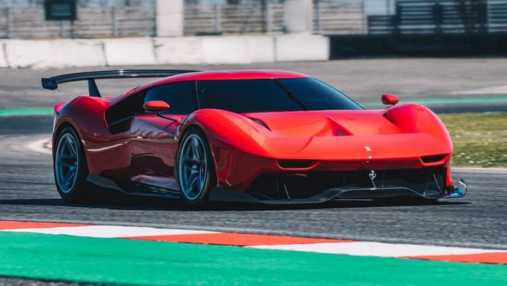 Ferrari's P80/C Is A One-Off Track Machine Of Dreams