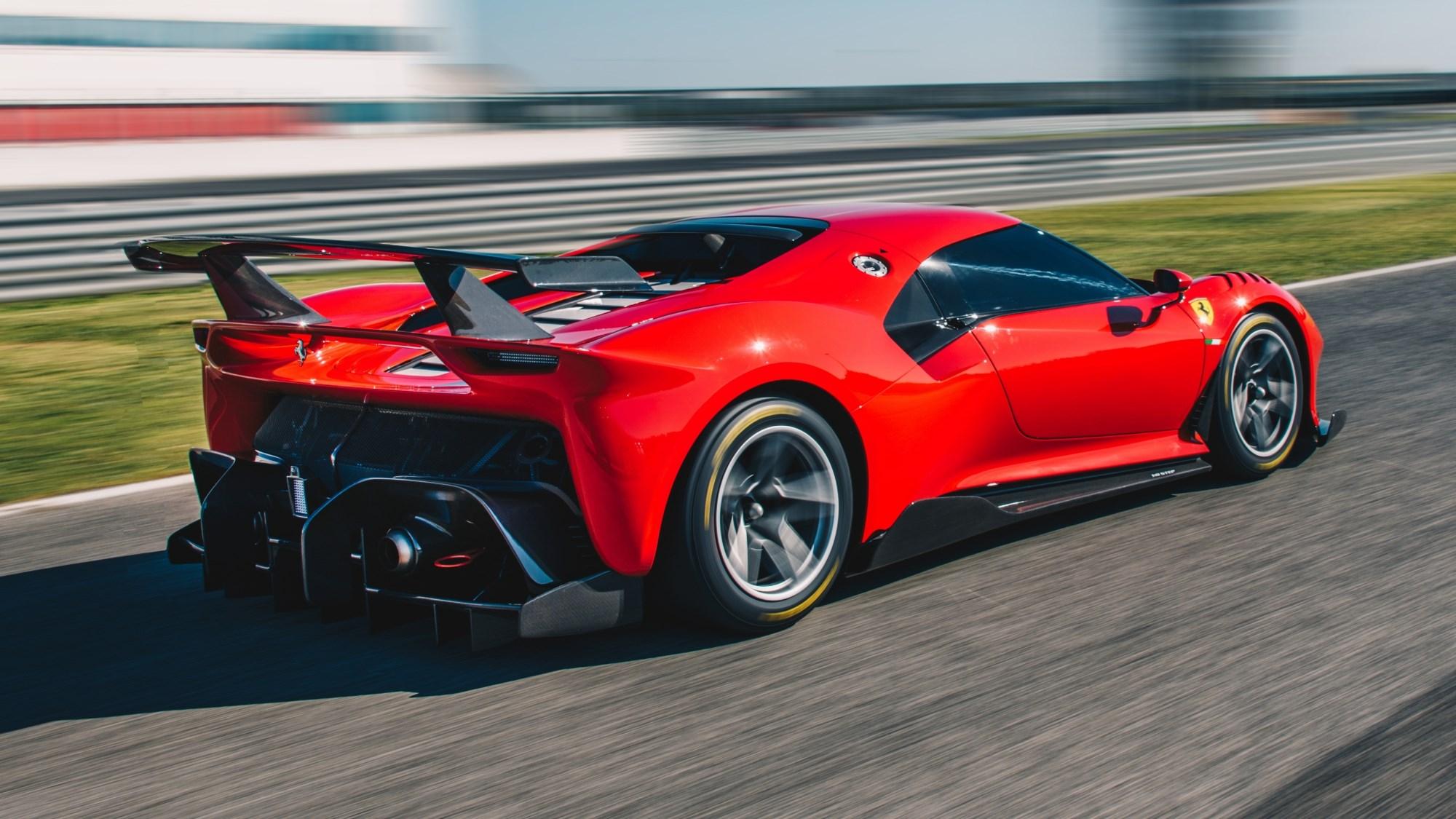 Ferrari's P80/C Is A One-Off Track Machine Of Dreams Thumbnail