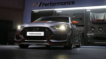 Hyundai N Performance Car Concept Is Very, Very Mean – Gallery