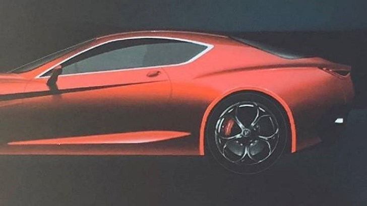 Alfa Romeo 'Leaks' A GTV Of Some Kind – Gallery