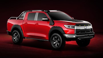 Great Wall Details Next-Gen Ute, Fully Electric Variant
