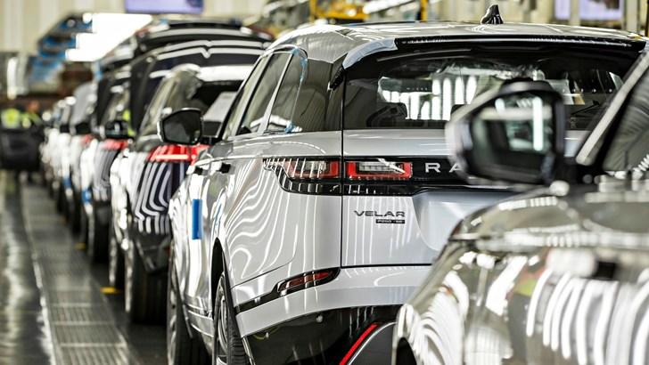 Jaguar-Land Rover Pauses UK Manufacturing – Gallery