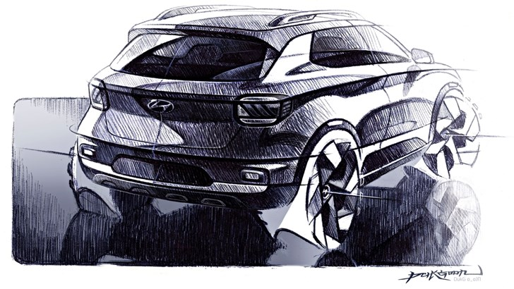 Hyundai Teases Its Venue Compact SUV – Gallery