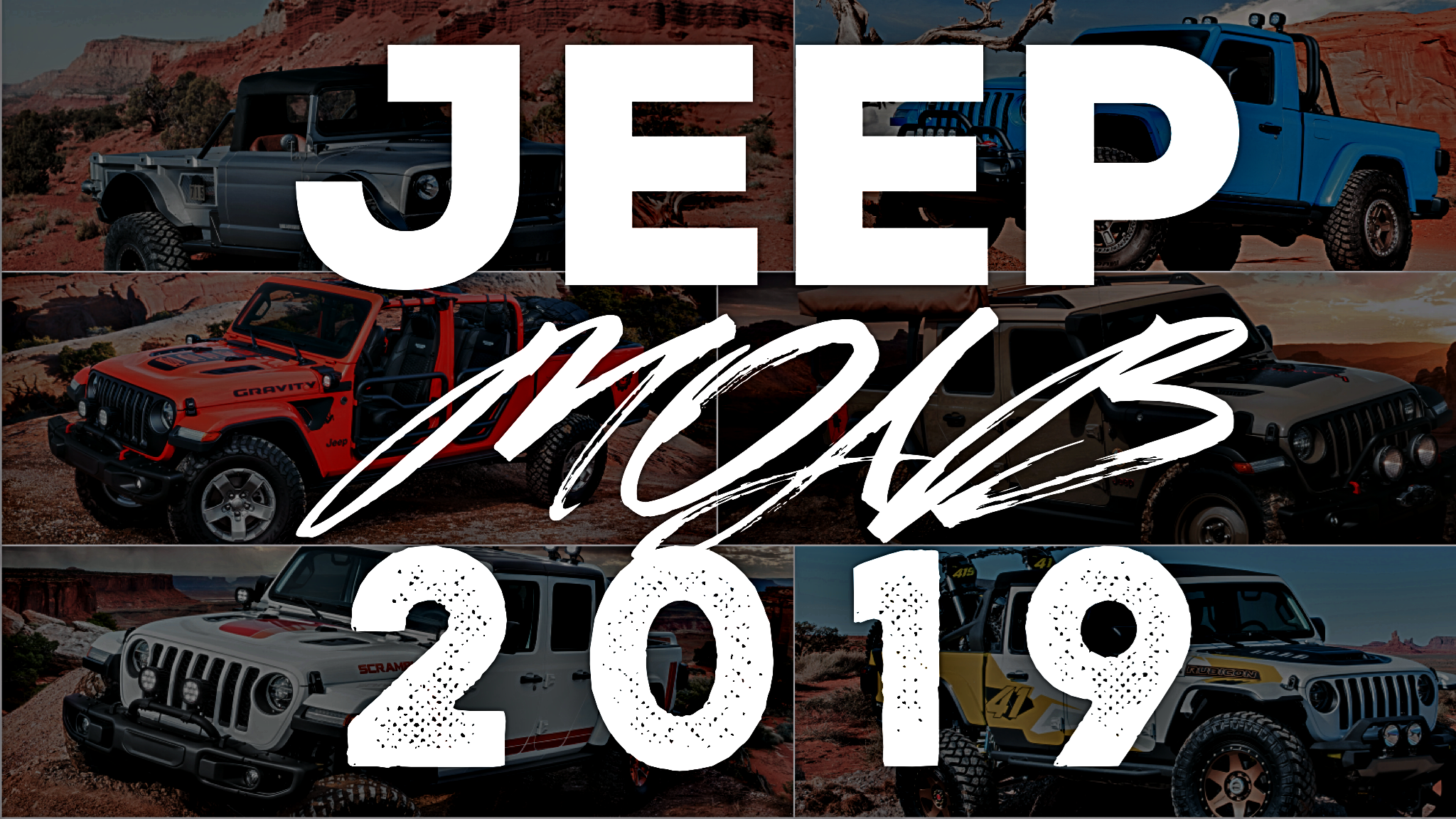Jeep Brings 6 Concept Utes To Moab Easter Safari