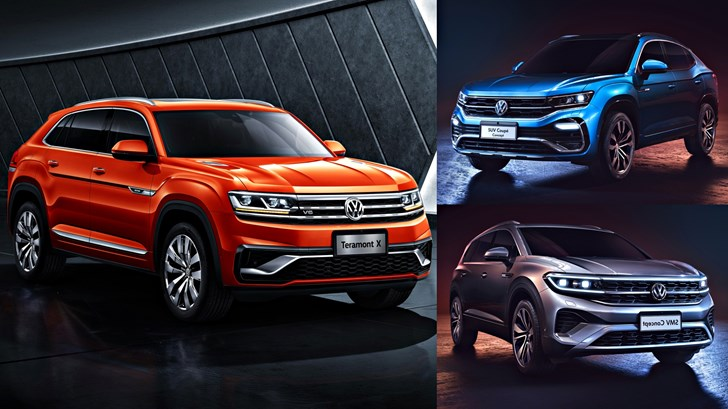 VW Hits Shanghai With SMV Concept, Teramont X, SUV Coupe –Gallery
