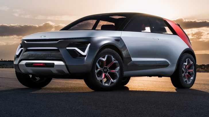 Kia's HabaNiro Concept Could Be Evidence Of Insanity – Gallery