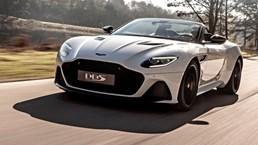 Aston Martin DBS Superleggera Volante Drops Jaws –Gallery