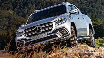 Mercedes X-Class & Nissan Navara 'Divorce' – Gallery