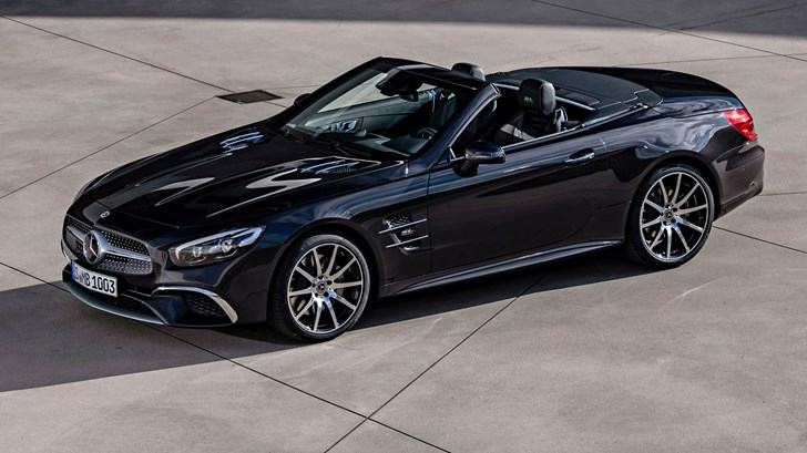 AMG To Spearhead New Mercedes SL Development – Gallery