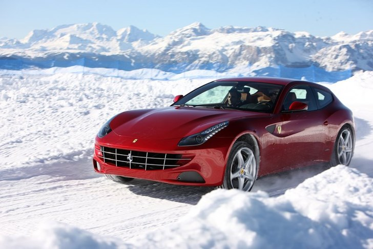 News Ferrari Owners Five Star Winter Driving Courses