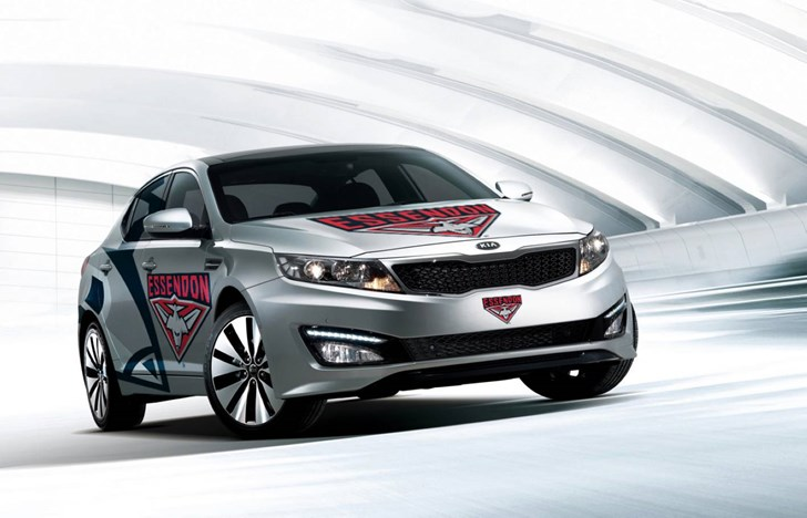 News Kia Signs With Essendon Bombers