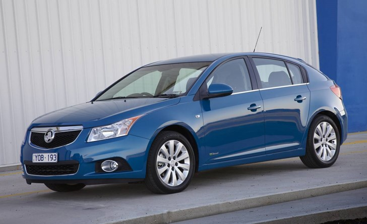News Holdencruze Hatchback Launched