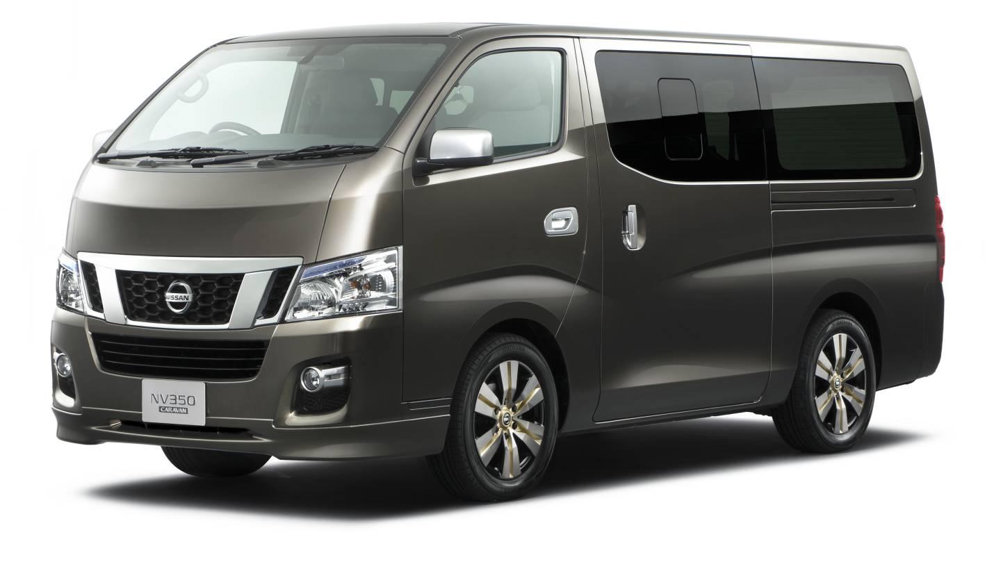 News Nissan Nv350 Commercial Van For Tokyo Motor Show